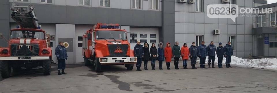 Авдеевские спасатели почтили память погибшего коллеги Дмитрия Тритейкина (ФОТОФАКТ), фото-1