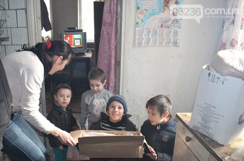 Авдеевские семьи получили подарки от полиции (ФОТО), фото-2