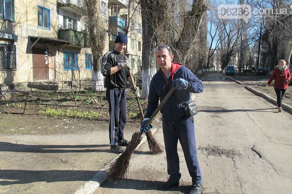 Чистый четверг: авдеевцы вышли на уборку родного города (ФОТООТЧЕТ), фото-5