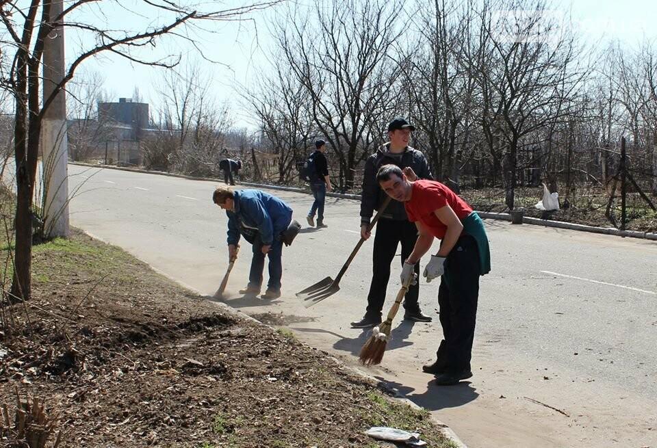 Чистый четверг: авдеевцы вышли на уборку родного города (ФОТООТЧЕТ), фото-8