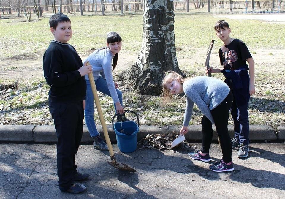 Чистый четверг: авдеевцы вышли на уборку родного города (ФОТООТЧЕТ), фото-10