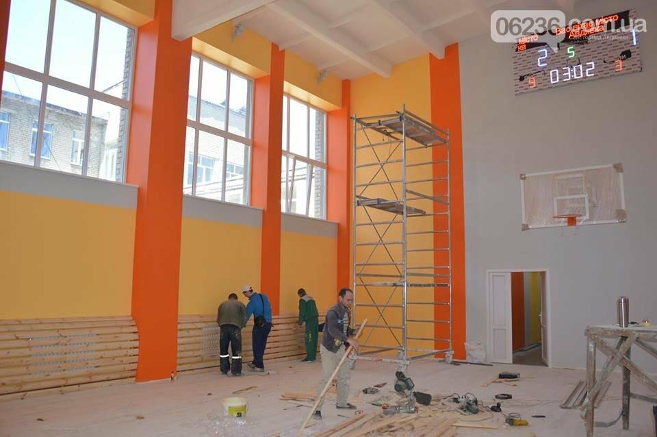 Капремонт спортивного зала школы №5 вышел на финишную прямую (ФОТО), фото-3