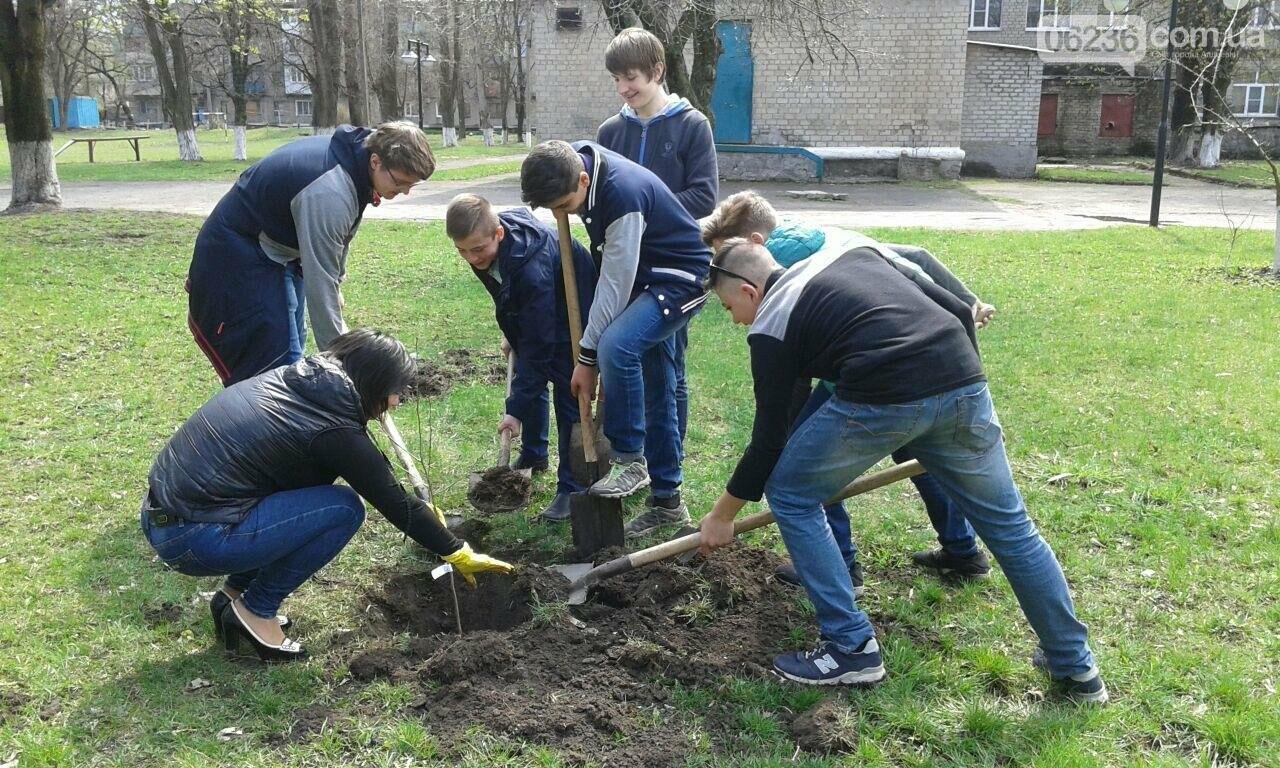 В Авдеевке  возрождают школьный сад (ФОТОФАКТ), фото-4