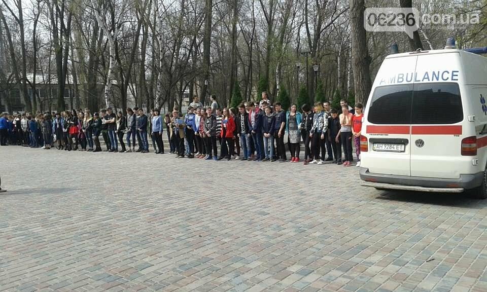 В Авдеевке эвакуировали школьников (ФОТО), фото-1