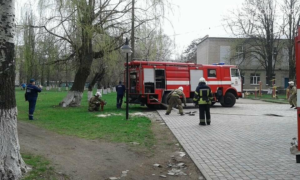 В Авдеевке эвакуировали школьников (ФОТО), фото-2