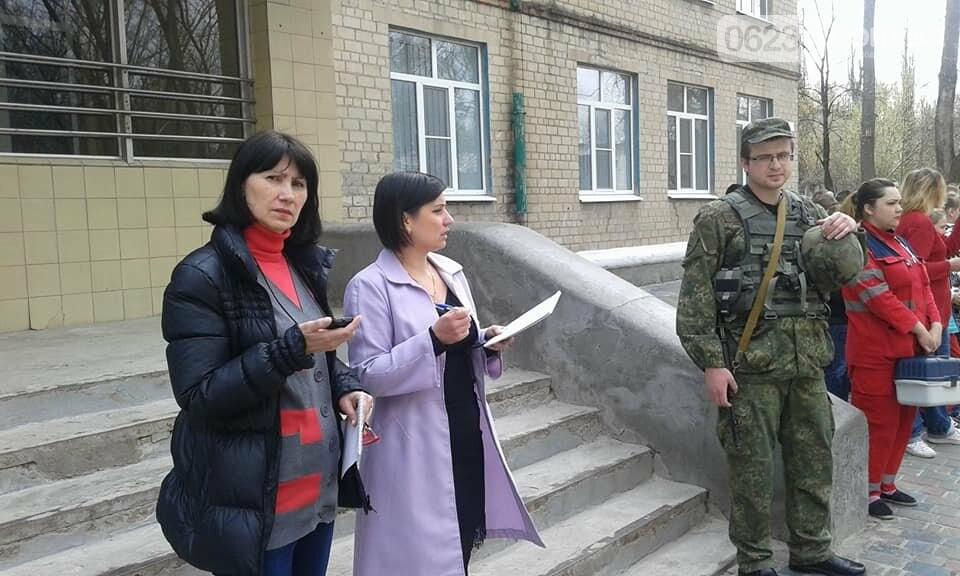 В Авдеевке эвакуировали школьников (ФОТО), фото-7