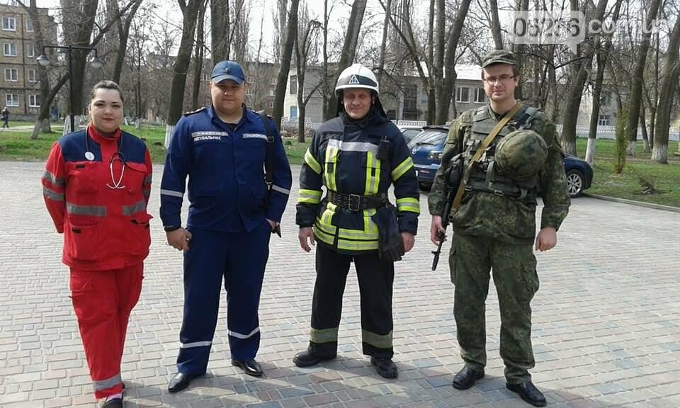 В Авдеевке эвакуировали школьников (ФОТО), фото-8
