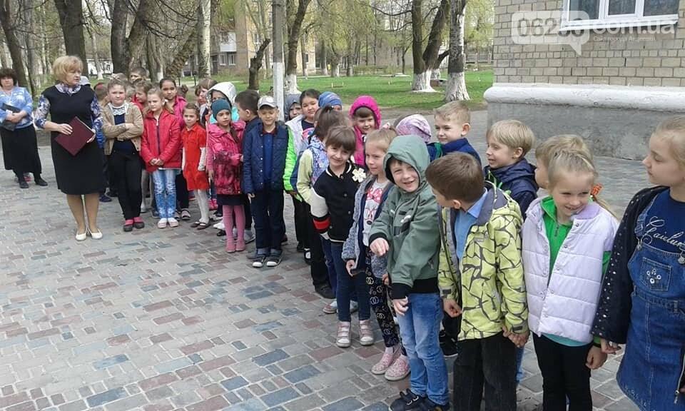 В Авдеевке эвакуировали школьников (ФОТО), фото-11