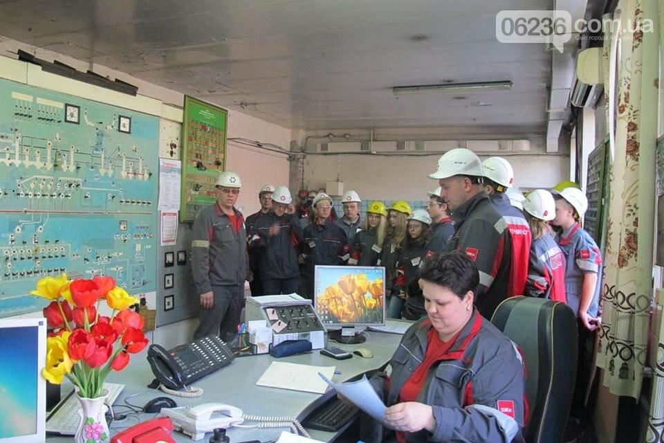 Авдеевские коксохимики рассказали школьникам о работе предприятия (ФОТО), фото-4