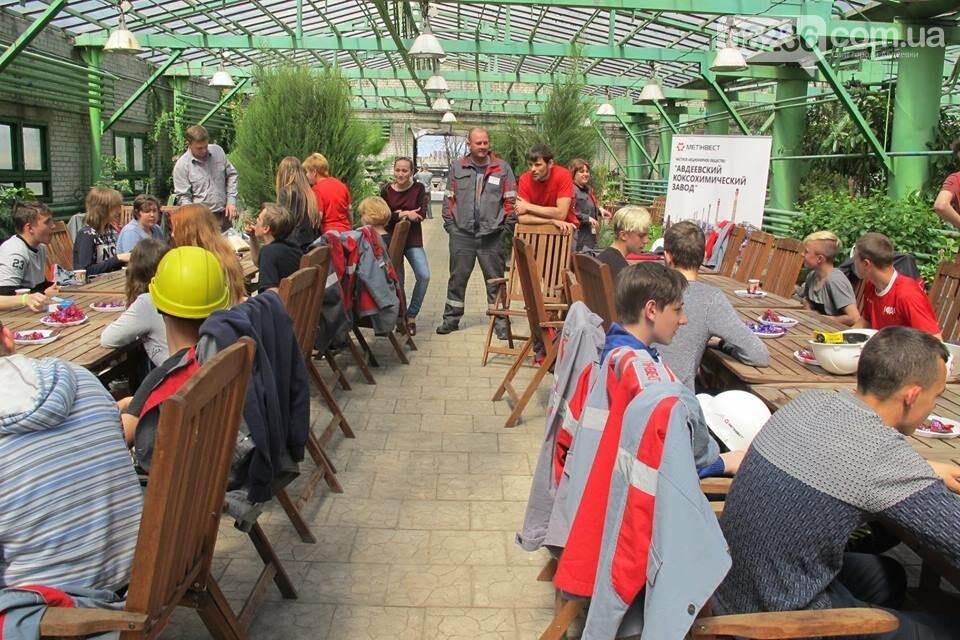 Авдеевские коксохимики рассказали школьникам о работе предприятия (ФОТО), фото-7