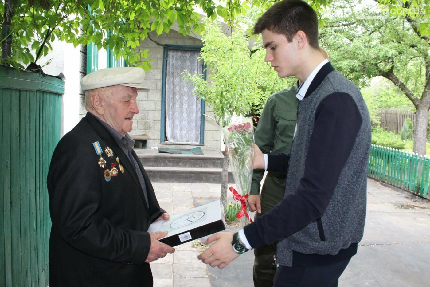 Авдеевских ветеранов поздравили с 73-м Днем Победы (ФОТО), фото-5