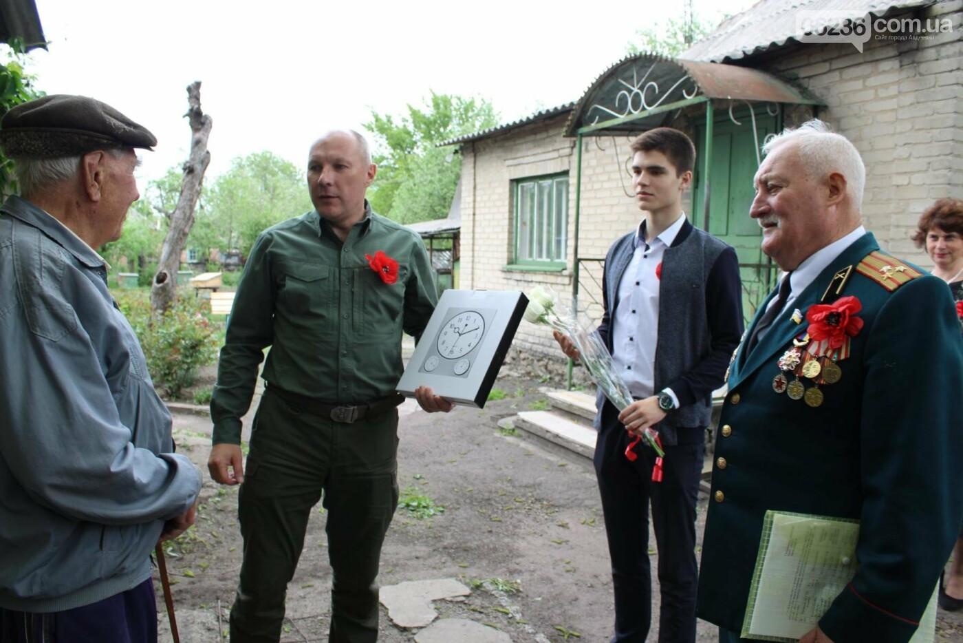 Авдеевских ветеранов поздравили с 73-м Днем Победы (ФОТО), фото-6