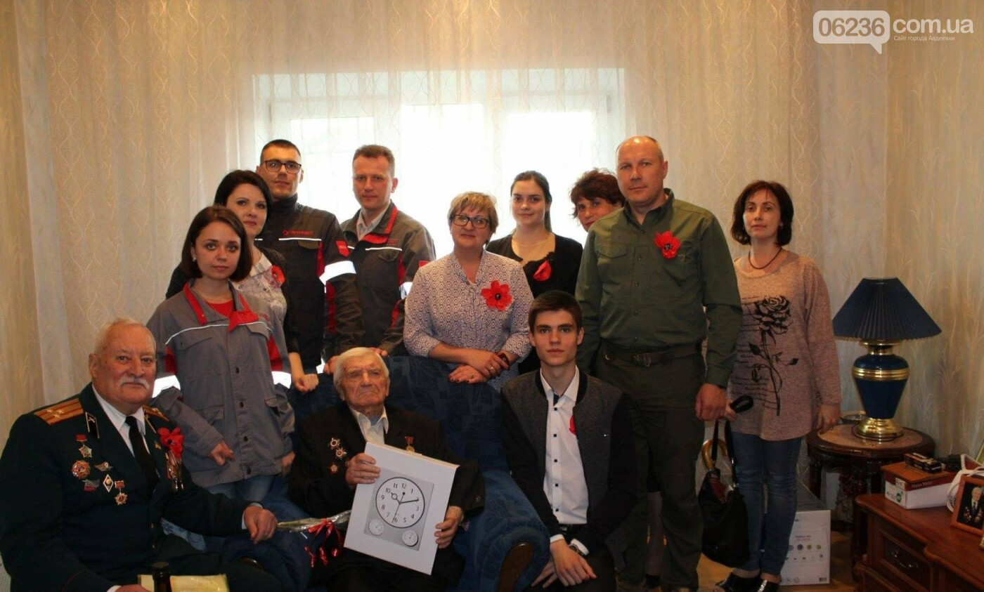 Авдеевских ветеранов поздравили с 73-м Днем Победы (ФОТО), фото-4