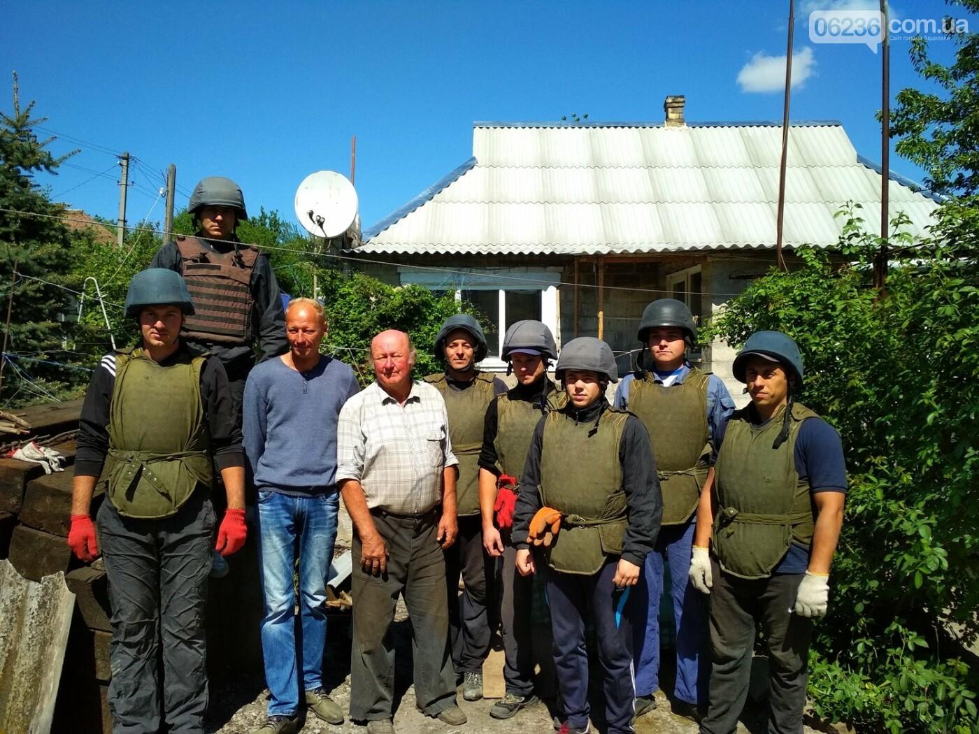 Спасатели продолжают восстанавливать поврежденные в результате боевых действий жилье в Авдеевке (ФОТО), фото-1