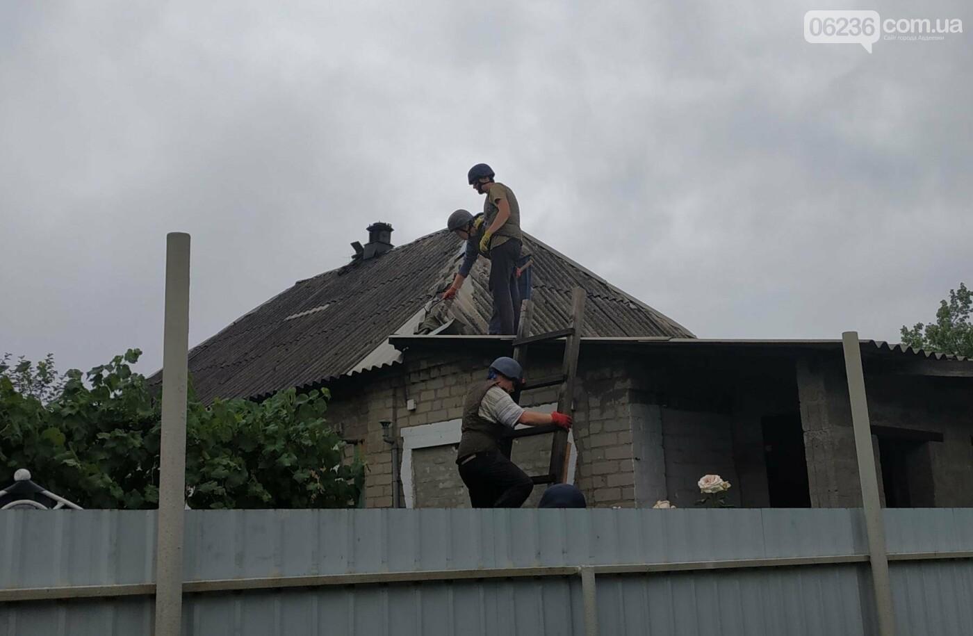 Спасатели ГСЧС продолжают восстанавливать Авдеевку (ФОТО), фото-2
