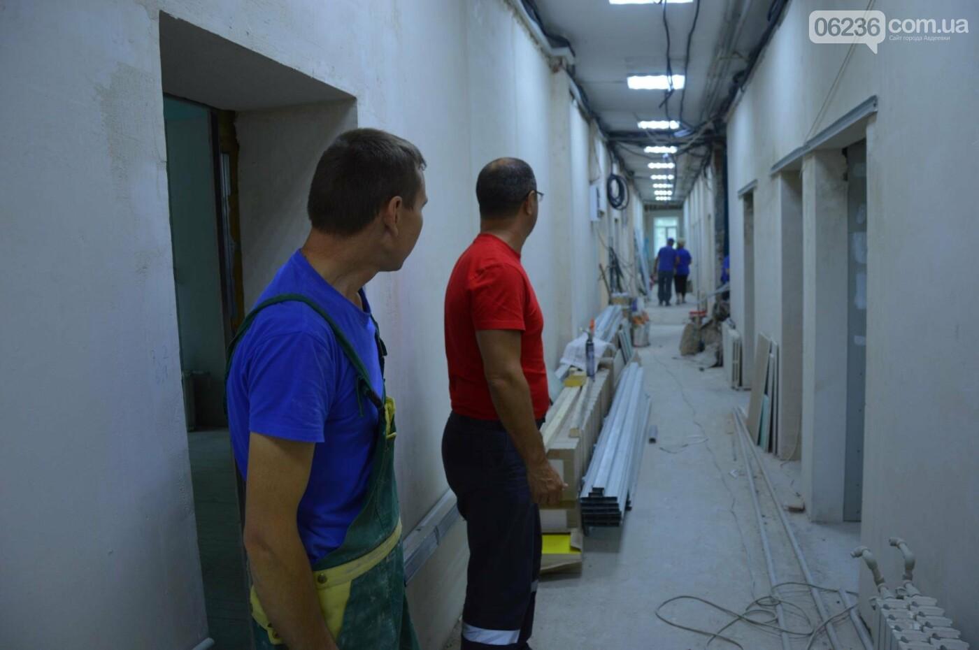 Ремонт в здании АЦГБ движется быстро и качественно, фото-2