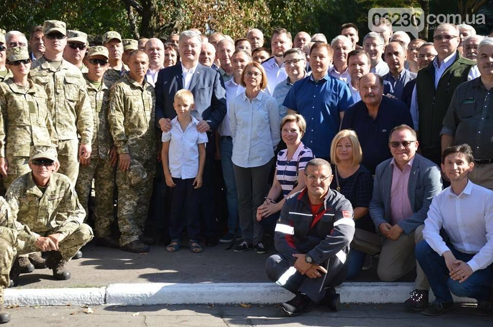 На Авдеевском коксохиме был подписан закон о соцгарантиях для украинских военных (ФОТОФАКТ), фото-3