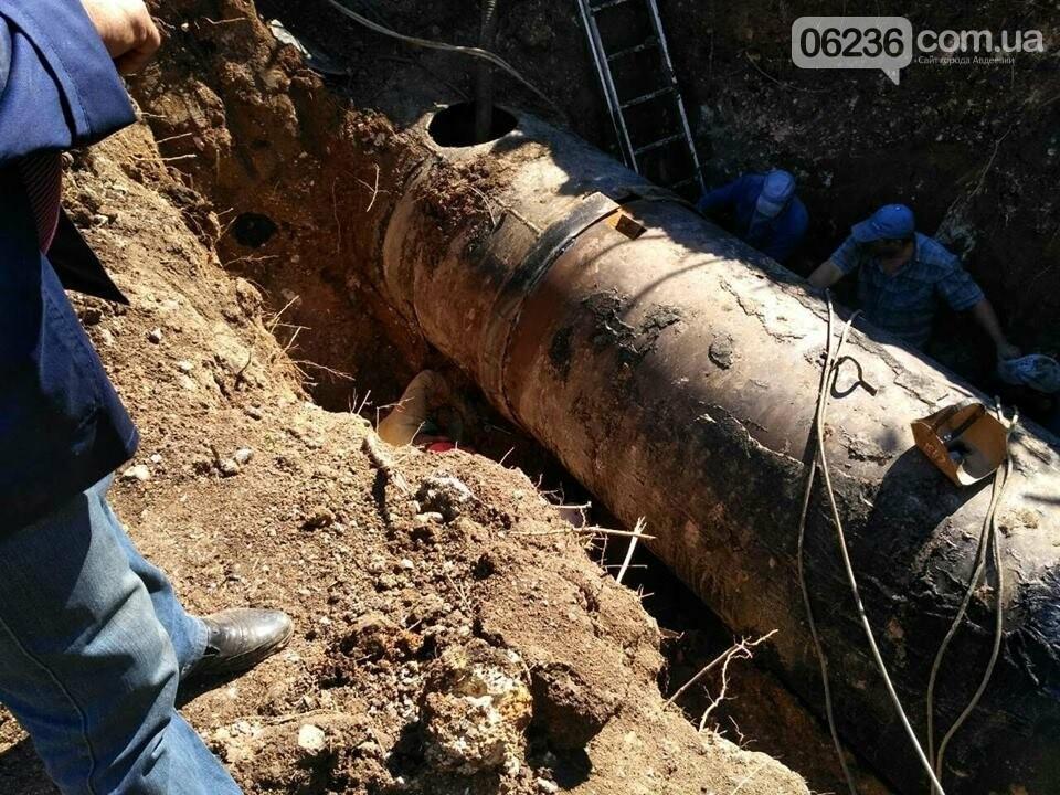 Вблизи Авдеевки залатали четыре прорыва Южно-Донбасского водовода (ФОТО), фото-5