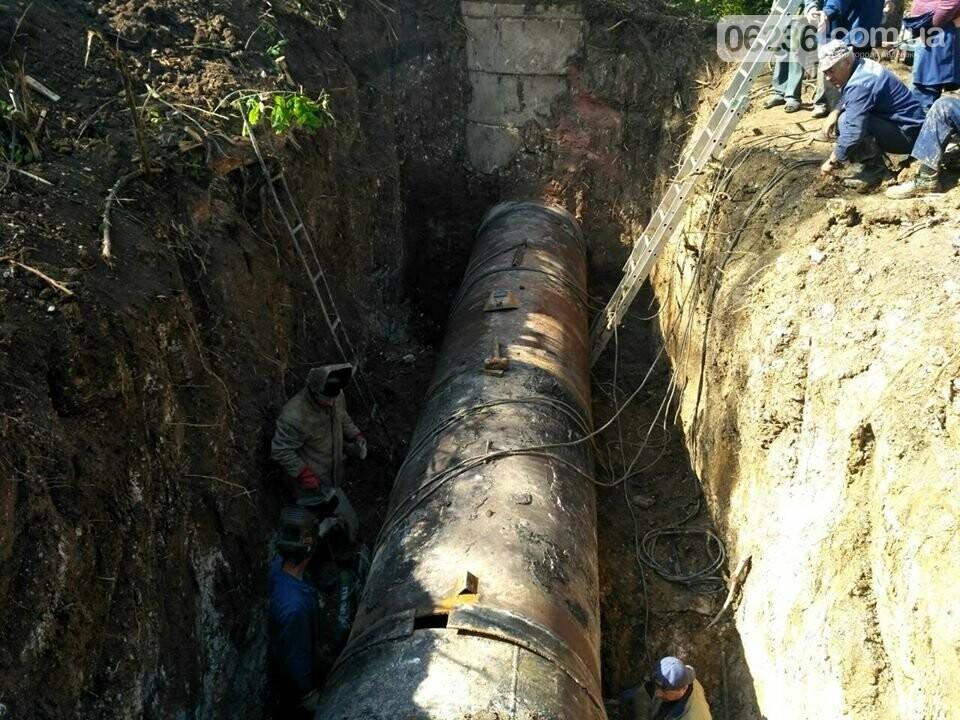 Вблизи Авдеевки залатали четыре прорыва Южно-Донбасского водовода (ФОТО), фото-4