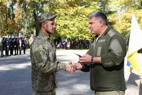 В Авдеевке поздравили защитников Украины (ФОТО), фото-6