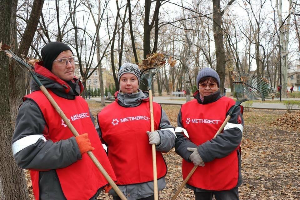Заводчане АКХЗ присоединились к уборке родного города (ФОТОРЕПОРТАЖ), фото-9