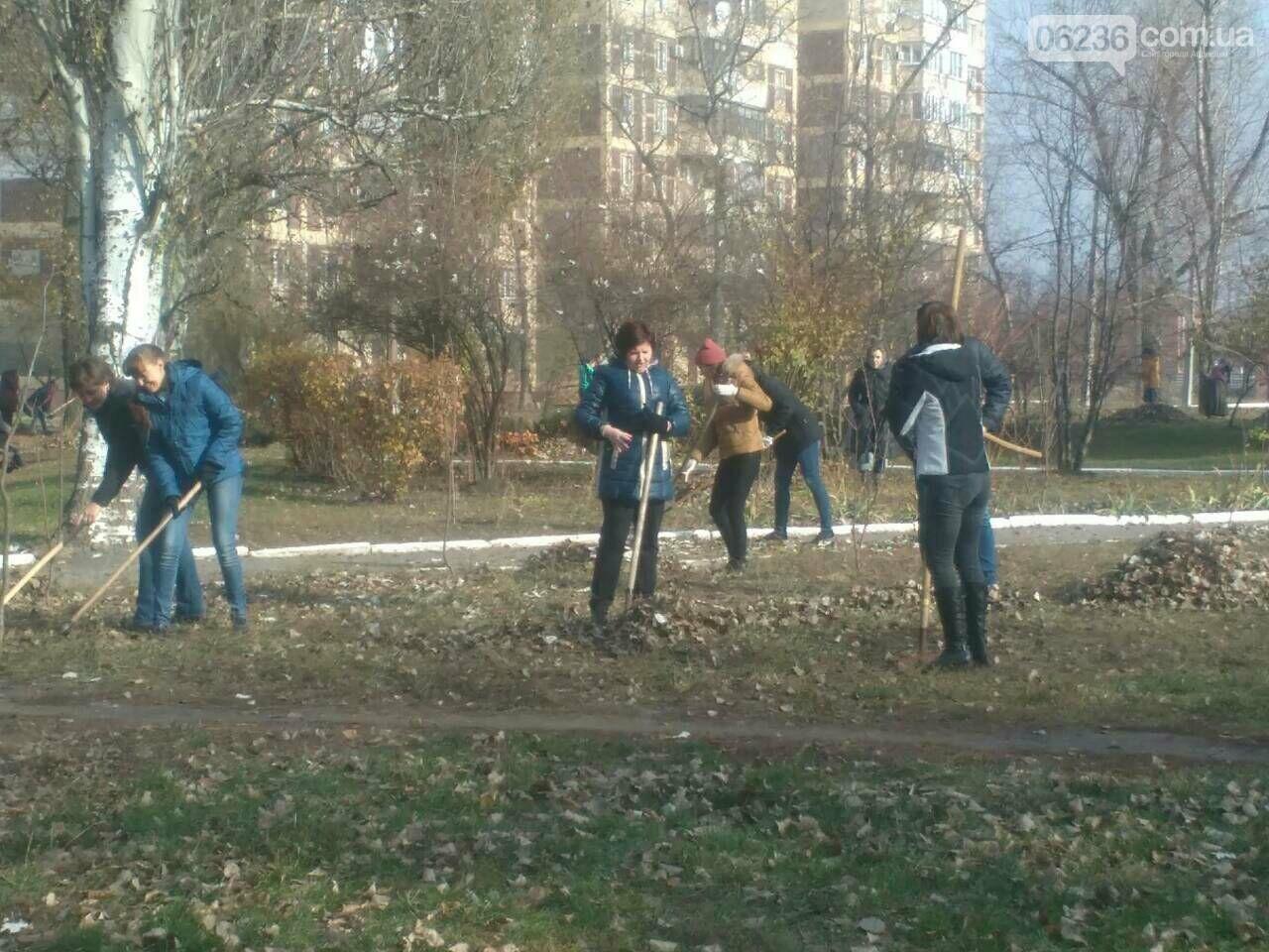 Заводчане АКХЗ присоединились к уборке родного города (ФОТОРЕПОРТАЖ), фото-6