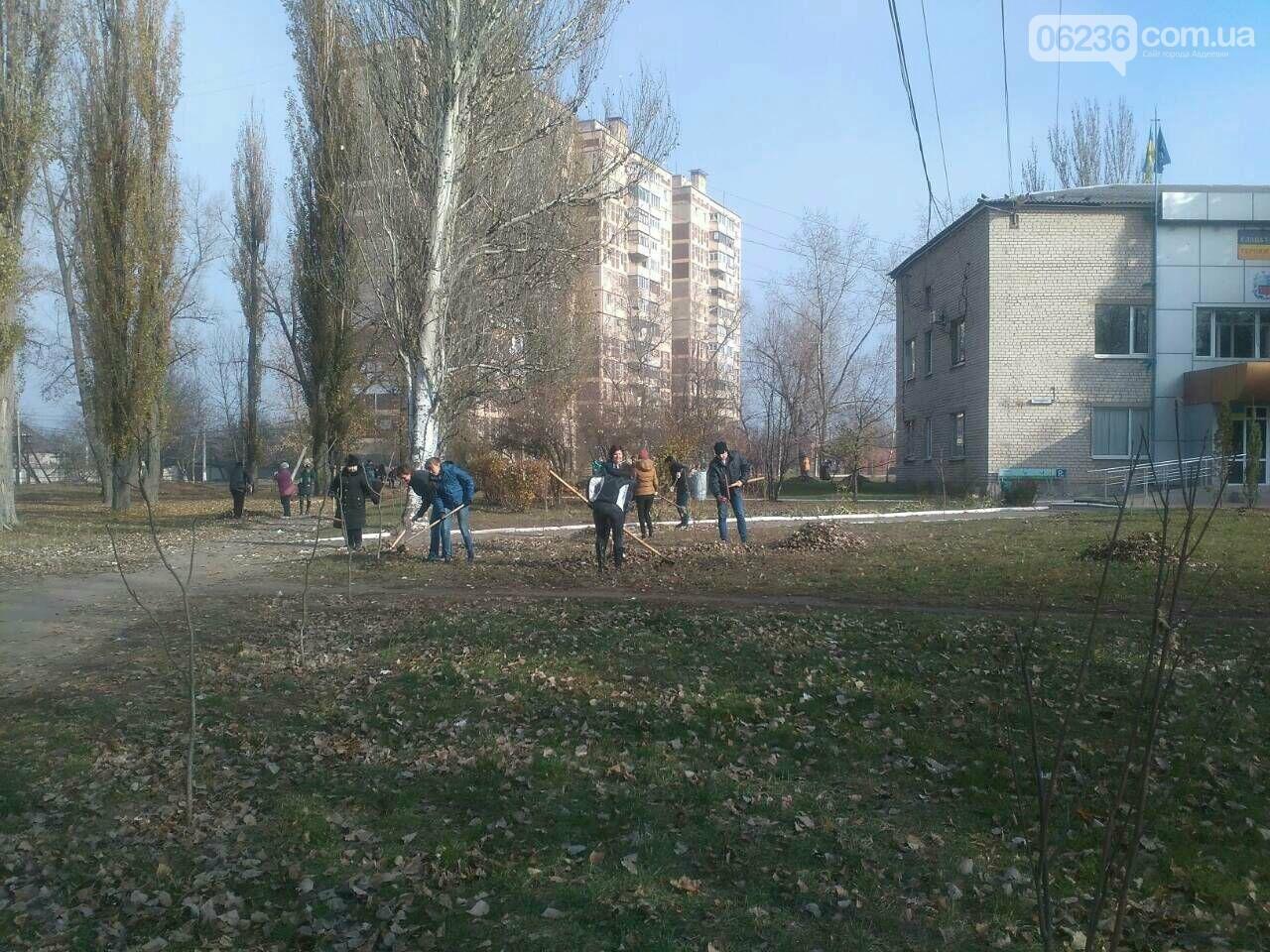 Заводчане АКХЗ присоединились к уборке родного города (ФОТОРЕПОРТАЖ), фото-10