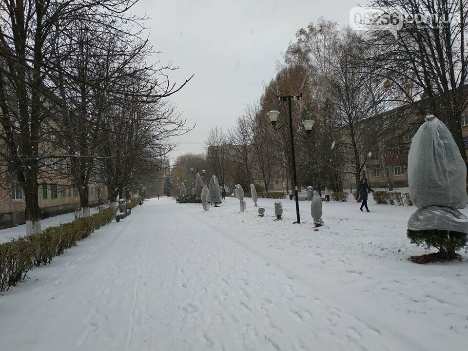 Авдеевку заметает  снегом: на борьбу со стихией вышли местные коммунальщики (ФОТО), фото-1