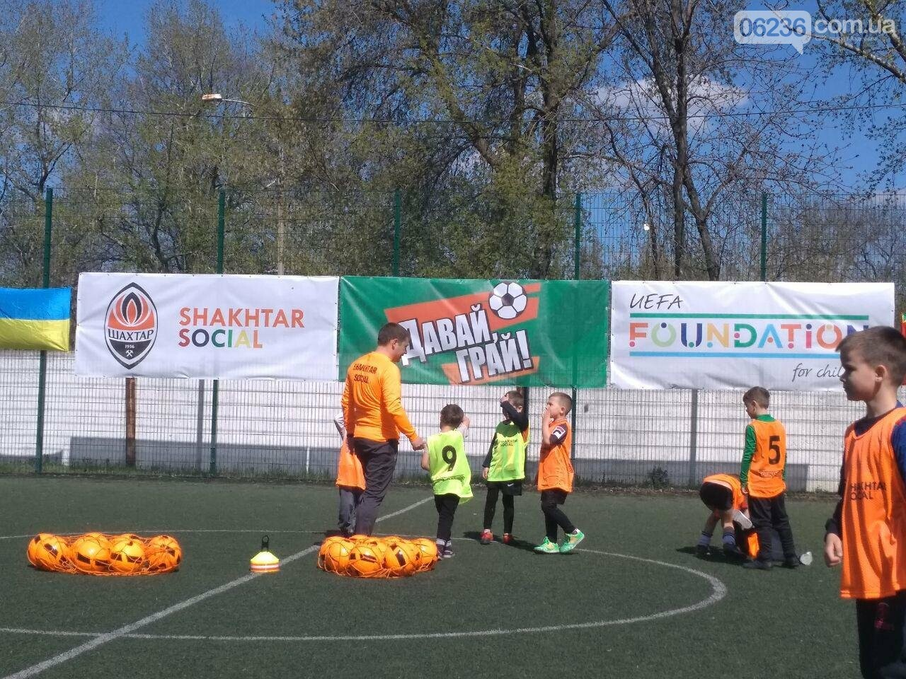 «Давай, играй!»: детский футбол в Авдеевке переходит на новый уровень (ФОТОРЕПОРТАЖ), фото-4