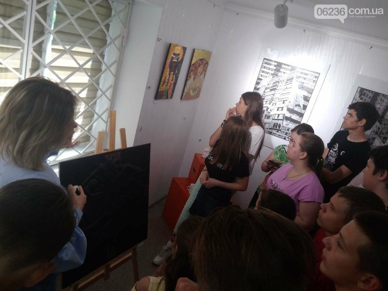 Авдеевцев знакомят с современным искусством (ФОТО), фото-4