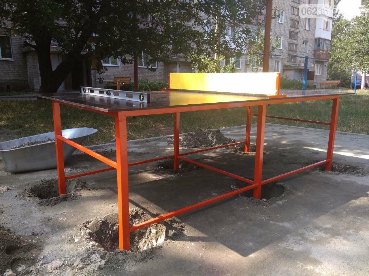 В Авдеевке приступили к монтажу современной детской площадки (ФОТОФАКТ), фото-4