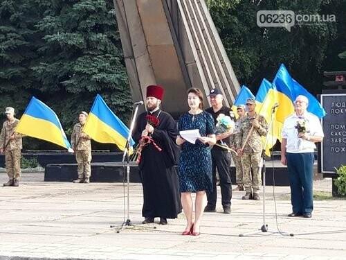 В Авдеевке состоялся митинг ко Дню освобождения Донбасса , фото-3