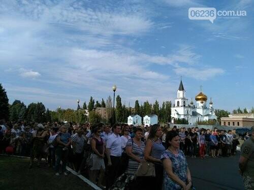 В Авдеевке состоялся митинг ко Дню освобождения Донбасса , фото-1