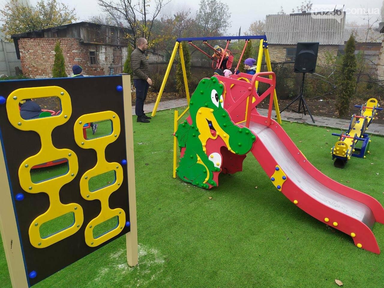 В  Авдеевке состоялось праздничное открытие большой детской площадки , фото-8