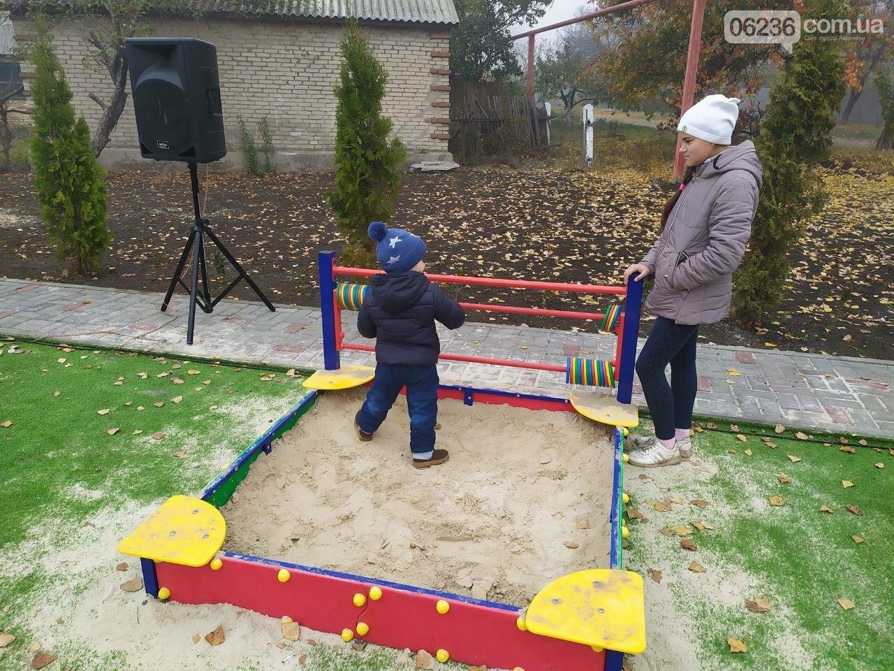 В  Авдеевке состоялось праздничное открытие большой детской площадки , фото-9