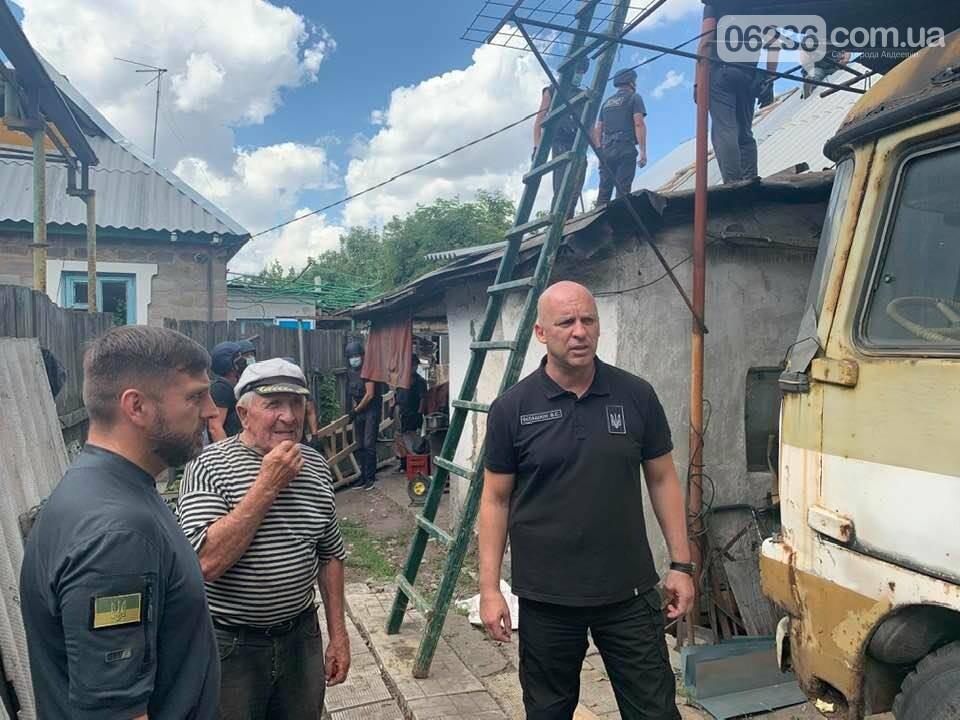 Восстановление домов в Авдеевке - под контролем ДонОГА, фото-1