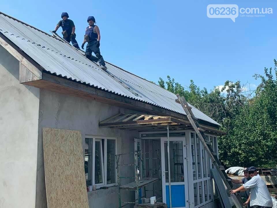 Восстановление домов в Авдеевке - под контролем ДонОГА, фото-2