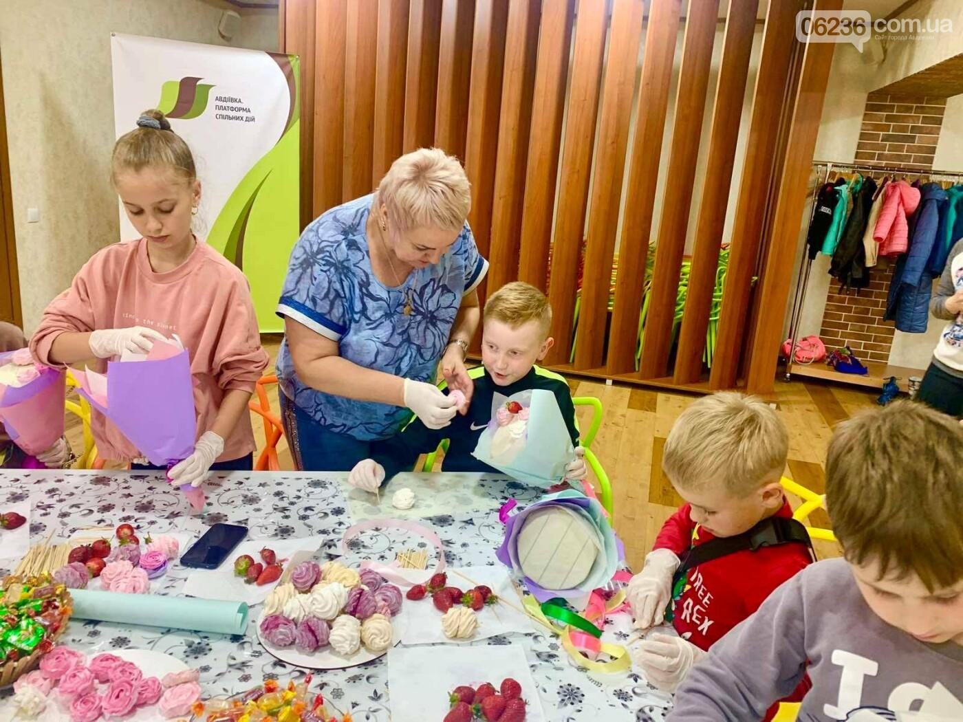 Зефирные букеты и вкусные подарки: на «Платформе» снова праздник для ребятишек, фото-2