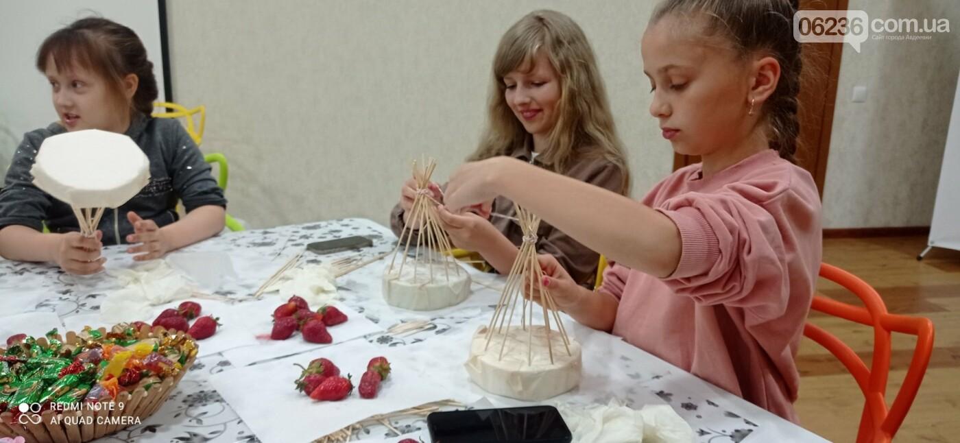 ОО «Авдеевка. Платформа совместных действий» провела «сладкий» мастер-класс для школьников города, фото-2