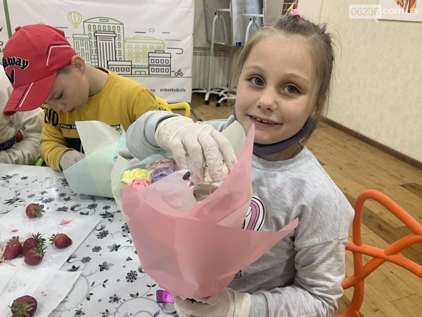 ОО «Авдеевка. Платформа совместных действий» провела «сладкий» мастер-класс для школьников города, фото-4