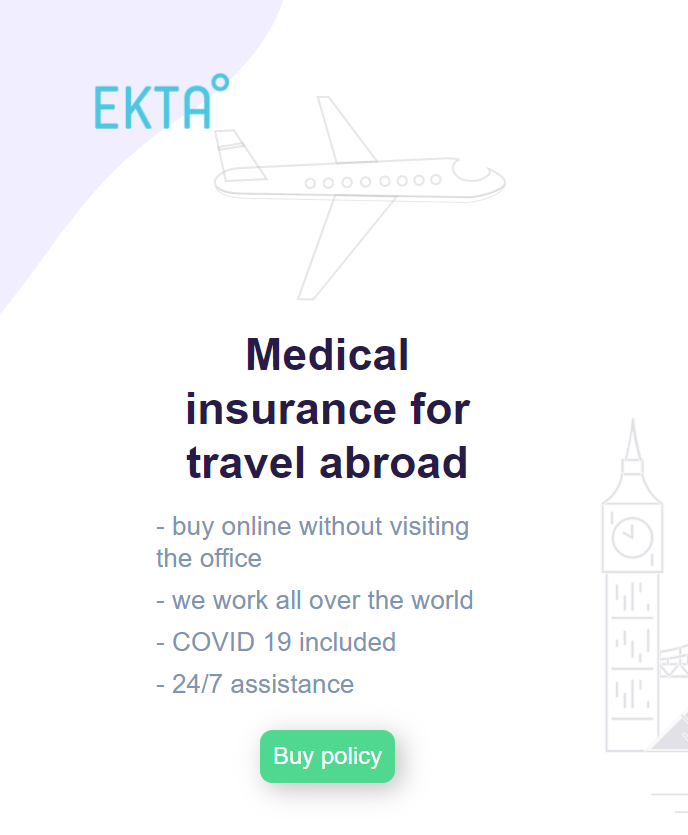 Медицинская страховка для поездки заграницу